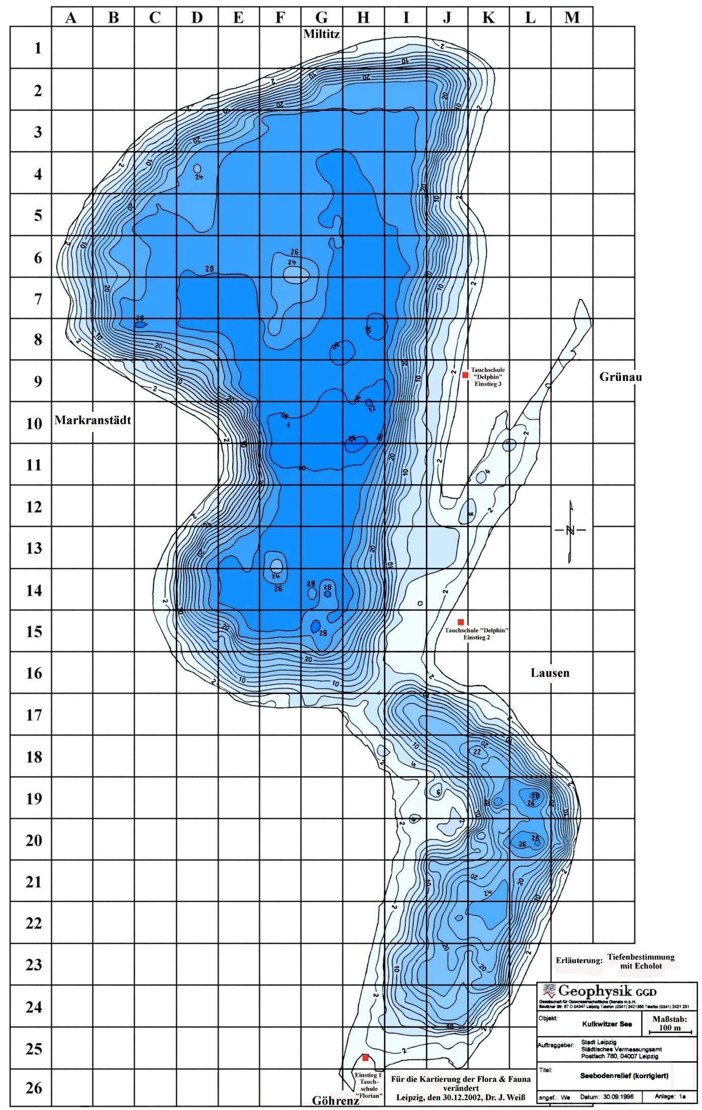 Wassertemperatur Kulkwitzer See
